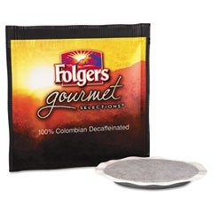 Gourmet Selections Coffee Pods, 100% Colombian Decaf, 18/Box