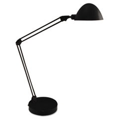 "LED Desk and Task Lamp, 5W, 5.5""w x 13.38""d x 21.25""h, Black"