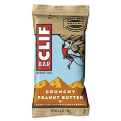 Energy Bar, Crunchy Peanut Butter, 2.4 oz, 12/Box