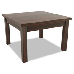 Alera Valencia Series Occasional Table, Rectangle,23-5/8w x20d x20-3/8h,Mahogany