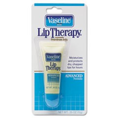 Lip Therapy Advanced Lip Balm, 0.35 oz Tube, Regular Flavor, 72/Carton