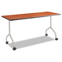 Impromptu Series T-Leg Table Base, Steel, 5 1/4w x 5 1/4d x 28h, Silver
