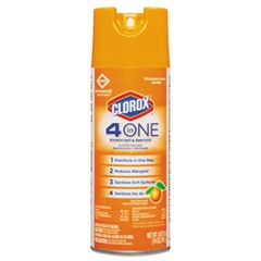 CLOROX 4 IN 1 DISINFECTANT & SANITIZER