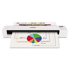 DSmobile 820W Wireless Mobile Scanner, 600 dpi Optical Resolution, 1-Sheet Auto Document Feeder