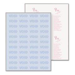Premier Medical Security Paper, Blue, 10 Features, 8 1/2 x 11, 500/Ream