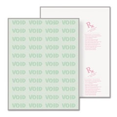 Advanced Medical Security Paper, Green, 7 Features, 8 1/2 x 11, 500/RM