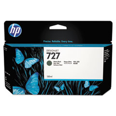 HP 727, (B3P22A) Matte Black Original Ink Cartridge