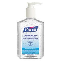 PURELL HAND SANITIZER 8oz PUMP 12/CS