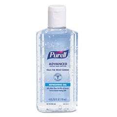 PURELL HAND SANITIZER 4.5oz FLIP CAP 24/CS