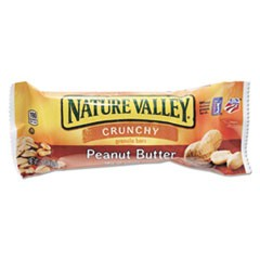 Granola Bars, Peanut Butter Cereal, 1.5oz Bar, 18/Box