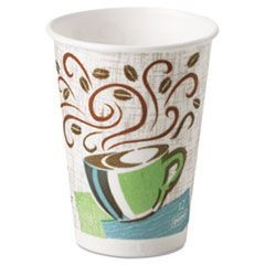 CUP,HOT,12OZ,1000/CT PERFECT TOUCH DIXIE