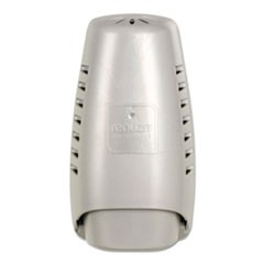 "Wall Mount Air Freshener Dispenser, 3 3/4"" x 3 1/4"" x 7 1/4"", Silver, 6/Carton"