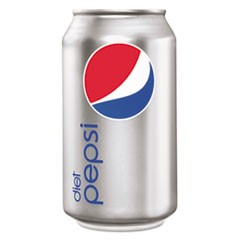 Diet Cola, 12 oz Soda Can, 24/Pack