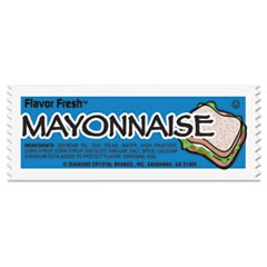 Flavor Fresh Mayonnaise Packets, .317oz Packet, 200/Carton