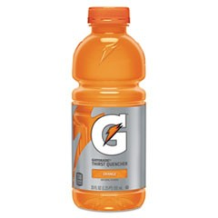 G-Series Perform 02 Thirst Quencher, Orange, 20 oz Bottle, 24/Carton