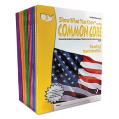 Common Core Assessment Reference Kit, Math/Reading, Grades 3-8, 2040 Pages
