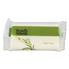 Body & Facial Soap, 1.5 oz, Fresh Scent, White, 500/Carton