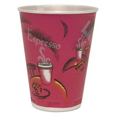 Trophy Plus Dual Temperature Cups, 12 oz, Bistro Design, 1000/Carton