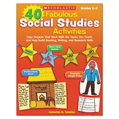 40 Fabulous Social Studies Activities, 64 Pages