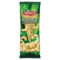 Cashew Pieces, 1.25 oz. Tube Package, 12/Box