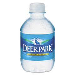 Natural Spring Water, 8 oz Bottle, 48 Bottles/Carton