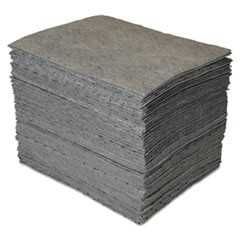 GP MAXX Enhanced Sorbent Pads, .25gal, 15w x 19l, Gray, 100/Carton