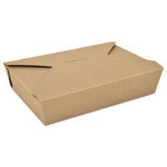 ChampPak Retro Carryout Boxes, Kraft, 7-3/4 x 5-1/2 x 1-7/8, Brown