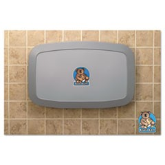 Koala Kare Horizontal Baby Changing Station, 35 X 22, Gray