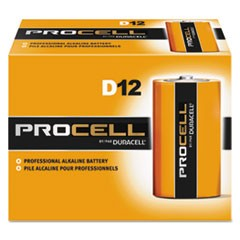 BATTERY,PROCELL,D,12/BOX
