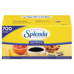 No Calorie Sweetener Packets, 700/Box