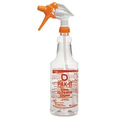 Color-Coded Trigger-Spray Bottle, 32 oz, Orange: Citrus All-Purpose Cleaner