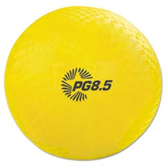 "Playground Ball, 8 1/2"" Diameter, Yellow"