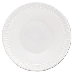 Quiet Classic Laminated Foam Dinnerware, Bowls, 5-6 Oz, White, Round, 125/Pack