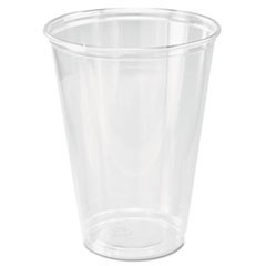 Ultra Clear Cups, Tall, 10 oz, PET, 50/Bag, 1000/Carton