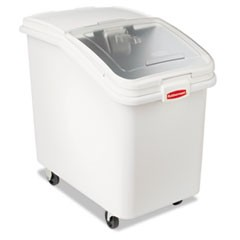 ProSave Mobile Ingredient Bin, 30.86gal, 18w x 29 3/4d x 28h, White