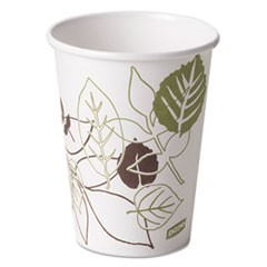 Pathways Paper Hot Cups, 12oz, 50/Pack