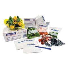 "Food Bags, 24 qt, 1 mil, 12"" x 30"", Clear, 500/Carton"