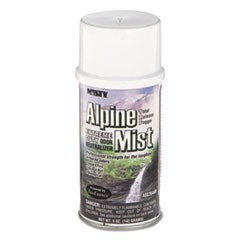 Odor Neutralizer Fogger, Alpine Mist, 5 oz Aerosol, 12/Carton