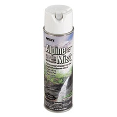 Hand-Held Odor Neutralizer, Alpine Mist, 10 oz Aerosol, 12/Carton