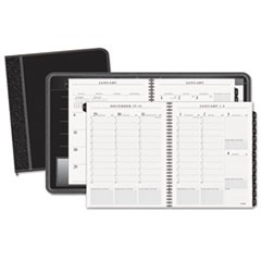 Columnar Executive Weekly/Monthly Appointment Book, Zipper, 8 1/4 x 10 7/8, 2018