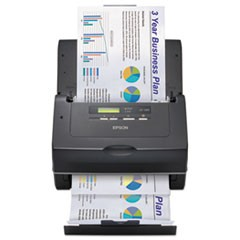 WorkForce Pro GT-S85 Scanner, 600 dpi Optical Resolution, 75-Sheet Duplex Auto Document Feeder