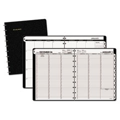 Move-A-Page Weekly/Monthly Appointment Book, 8 3/4 x 11, White, 2018