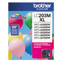 LC203M Innobella High-Yield Ink, 550 Page-Yield, Magenta
