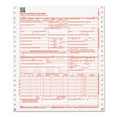 CMS Forms, 2 Part Continuous White/White, 9 1/2 x 11, 1000 Forms