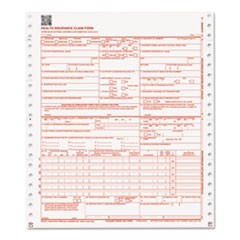 CMS Forms, 1 Part Continuous White, 9 1/2 x 11, 2500 Forms