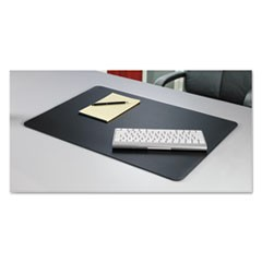 Rhinolin II Desk Pad with Antimicrobial Protection, 36 x 24, Black