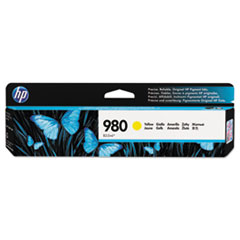HP 980, (D8J09A) Yellow Original Ink Cartridge