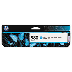 HP 980, (D8J07A) Cyan Original Ink Cartridge