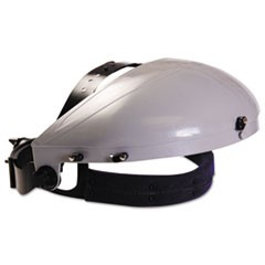 Headgear with Ratchet Adjustment, ABS Plastic, Gray