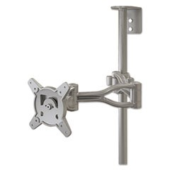 Optional Second Monitor Mount, 19 1/2w x 19 1/2d x 4 3/4h, Gray